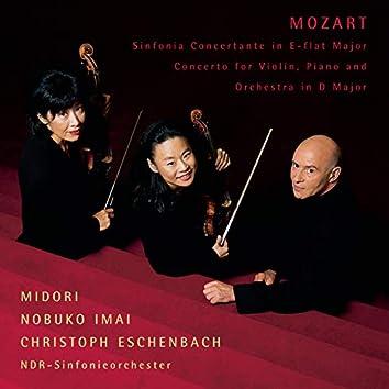 Mozart: Sinfonia concertante in E-Flat Major, K. 364 & Concerto for Violin & Piano in D Major, K. Anh. 56