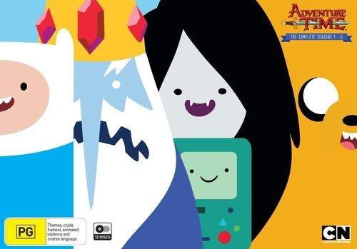 Adventure Time: Seasons 1-5 [USA] [Blu-ray]