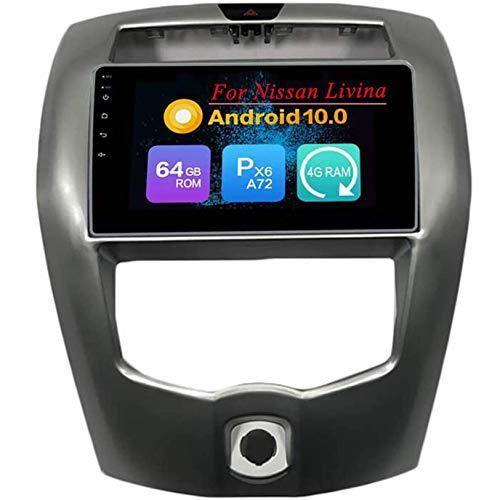 WHL.HH IPS HD Tocar Pantalla Multimedia Jugador por Livina 2013-2019 Androide 10 GPS Navegación Cabeza Unidad Auto Estéreo Radio Apoyo DSP SWC Bluetooth Video Receptor