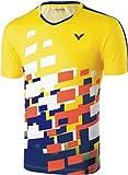 Victor 6428 Mens Badminton/Squash T-Shirt (Yellow)