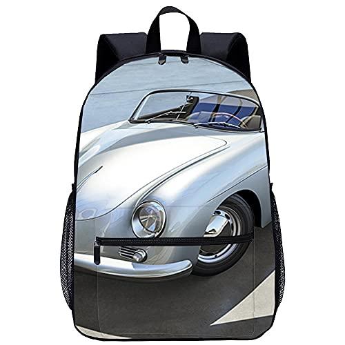 Mochila 3D Mochila Infantil -Forza Motorsport 6-Adecuado para: estudiantes de primaria y secundaria, la mejor opción para viajes al aire libre-Tamaño: 45x30x15 cm / 17 pulgadas-Mochilas para Acampar
