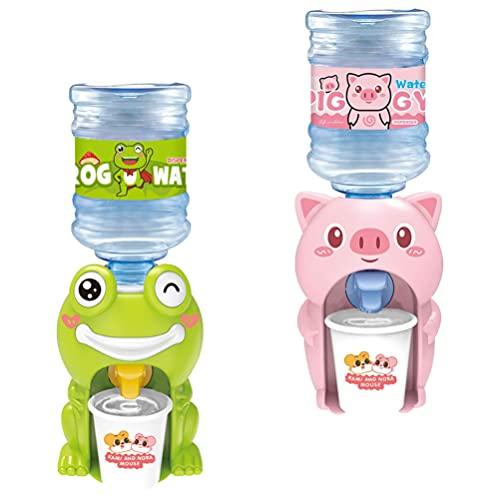 TOYANDONA 2pcs Mini Water Dispenser Dollhouse Decoration Accessories Miniature Life Play Scene Model Doll House Accessories