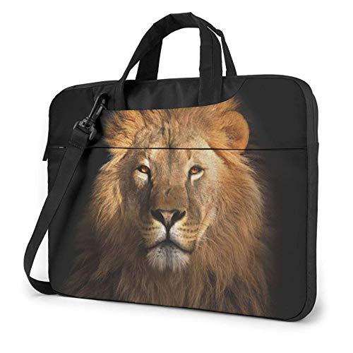 African Animal Lion Laptop Bag Messenger Bag Briefcase Satchel Shoulder Crossbody Sling Working Bag