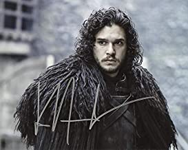 Kit Harrington GAME OF THRONES In Person Autographed Photo