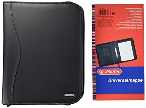Herlitz 5541685 Universalmappe A5 schwarz