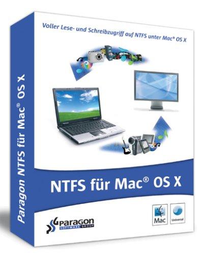 Paragon NTFS Für Mac® OS X