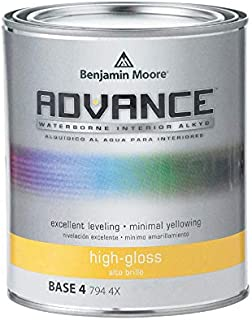 Benjamin Moore Advance High-Gloss Base 4 Alkyd Paint 1 qt. - Case of: 4