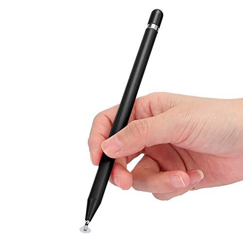 Lápiz Capacitivo, lápiz táctil para Pantalla, lápiz para Dibujar, lápiz táctil para Pantalla, lápiz para Pantalla táctil, Universal para teléfonos Inteligentes, tabletas(Negro)