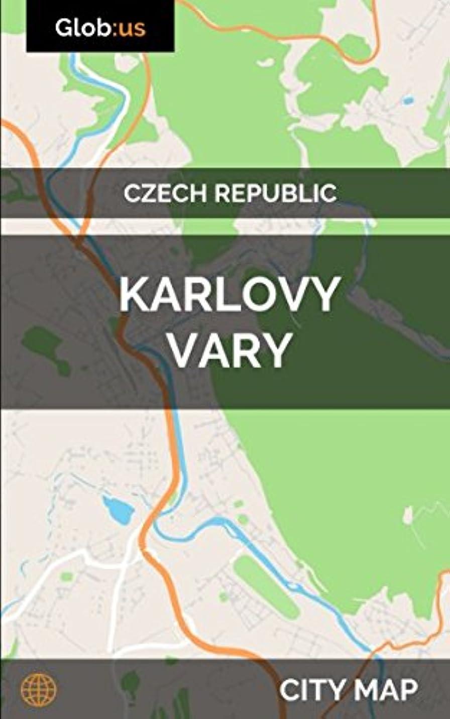 すりライバル詳細なKarlovy Vary, Czech Republic - City Map