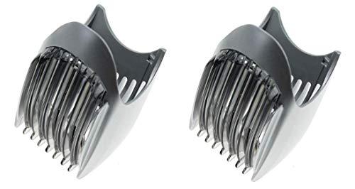 2x Panasonic WER221S7418 Kammaufsatz für Bartschneiden für ER221, ER2211