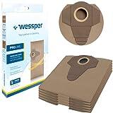 Wessper® Sacchetti per aspirapolvere Einhell Te-VC 1820 1250 RT-VC 1420 1500 1600 BT-VC 1250 Parkside PNTS 1250 1300 1400 1500 B2 B3 C1 C3 D1 E2 Sparky VC1220 VC1430 MacAllister 1250W 1400W (5 Pezzi)