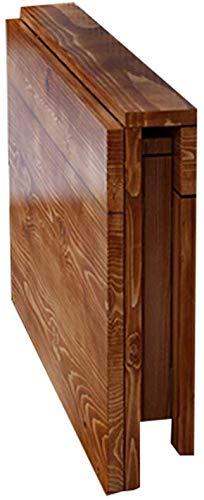 L&WB Tische Wandtisch Wand-Klapptisch Massivholz Multifunktion Einfach Zu Falten Einfach Zu Säubern Platz Sparen,100 * 50cm