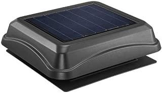 Broan 345SOBK Surface Mount Solar Powered Attic Ventilator, 28-Watt, Black