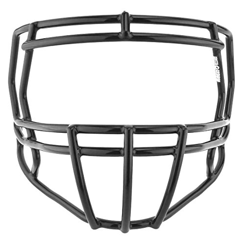 Green Gridiron Riddell Speed S2BD Facemask - Black