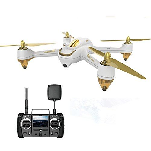 Drone The Hubsan Brushless X4 H501S HD Câmera Standard Edition Preto/Dourado