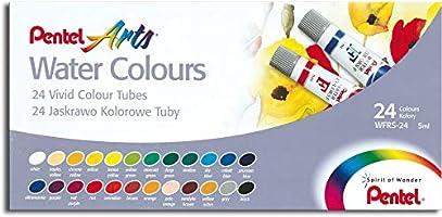 Aquarela 24 cores Pentel