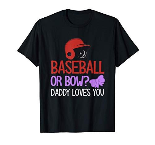 Geschlechtsspezifisches Geschenk - Baseball oder Bogen? T-Shirt