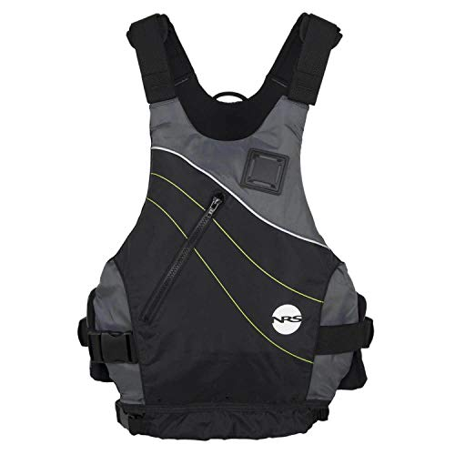 NRS Vapor Adult Large XLarge PFD Type III Boating Kayak Life Jacket Vest, Yellow