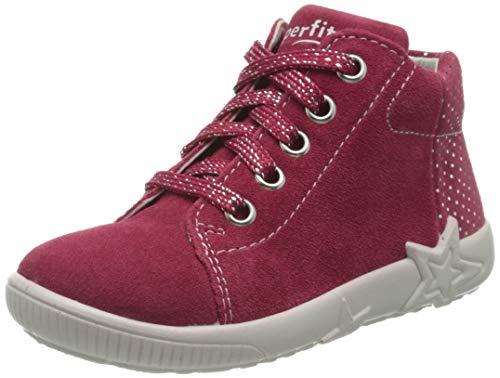 Superfit Baby Mädchen Starlight Sneaker, Rot (Rot 50), 23 EU
