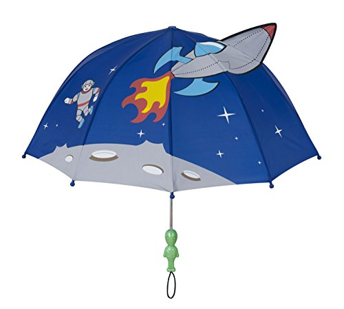Kidorable Kids Space Umbrella, Blue, One Size for Toddlers and Big Kids, Lightweight Child-Sized...