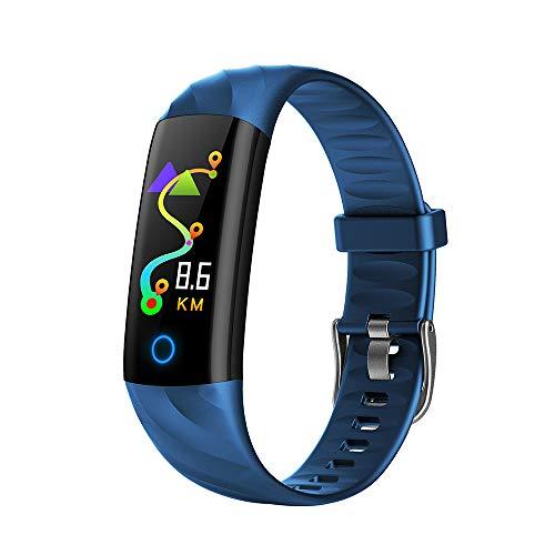 Lixada Fitness Armband IP67 Wasserdicht Schwimmen Fitness Tracker Gesundheit Monitor Puls Blut Schritt Kalorienzähler