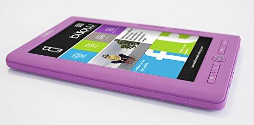 Billow E2TP lectore de e-Book - E-Reader (TFT, 800 x 480 Pixeles, ePub, FB2, HTML, MOBI, PDB, PDF, RTF, TXT, AAC, Ape, FLAC, MP3, OGG, WAV, WMA, BMP, GIF, JPG, PNG, 3GP, AVI, FLV, MP4, MPG, RMVB) miniatura