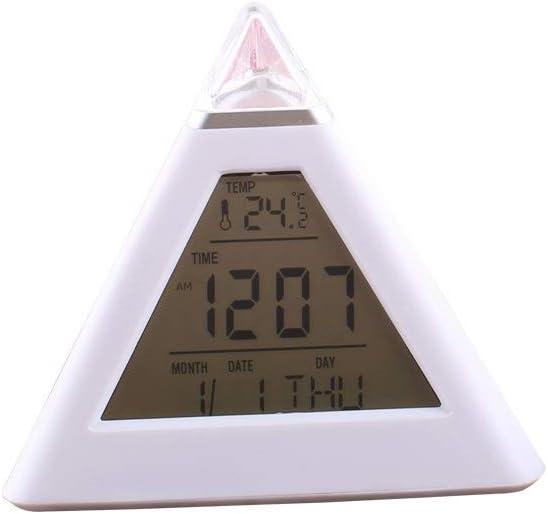 ZLBYB Triangular 7-Color Chicago Mall LED famous Temperature Digital Al Display Week