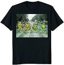 Teenage Mutant Ninja Turtles Road Crossing Parody T-Shirt