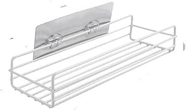LOPIXUO Badkamer plank Ijzer Badkamer Opslag Plank Rek Shampoo Douchegel Drijvende Plank Woondecoratie Keuken Accessoires ...