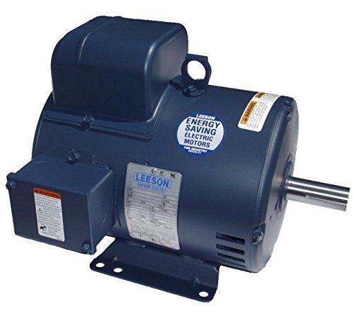 5 hp 1725rpm 184T Frame ODP 230 volts Leeson Electric Motor # 131537