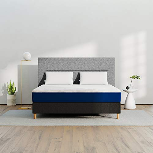AMERISLEEP AS1 Memory Foam Mattress - Queen (Firm) - Bed in a Box | Celliant Cover | Bio-Pur Plant Based Material | Cooler Than Memory Foam | USA