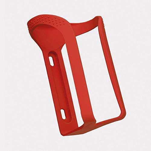 Fabric Gripper Fahrrad Flaschenhalter rot