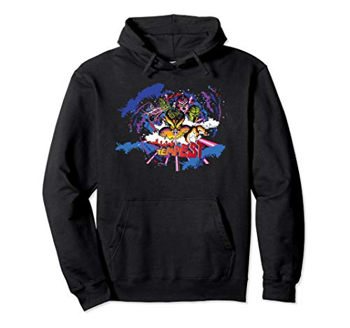 Officially Licensed Atari Tempest Hoodie, Unisex, 3 Colors, S to 2Xl