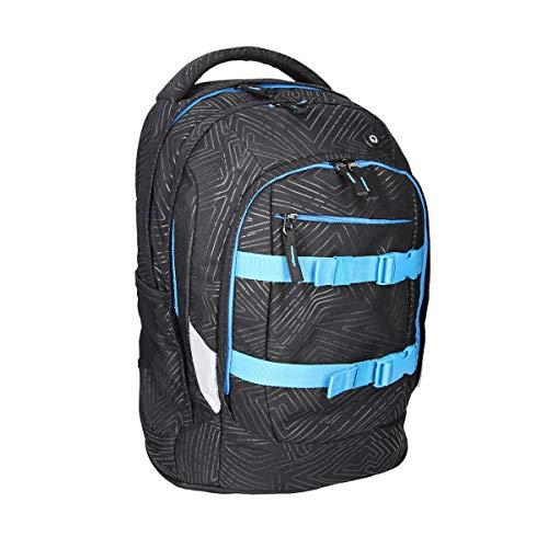 """SPIRIT Rucksack Schulrucksack Laptopfach Schoolbag Schultasche große Kapazität Reisetasche Jungen Mädchen """"Urban 01"""""""