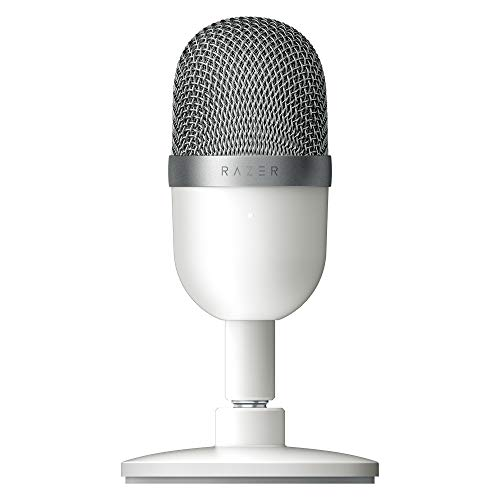 Razer Seiren Mini USB Streaming Microphone: Precise Supercardioid Pickup Pattern