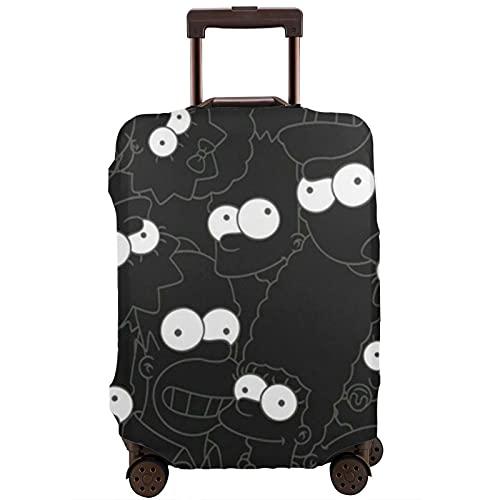 Copribagagli lavabile valigia Protector antigraffio copertura della valigia The Sim_Ps_Ons si adatta 22-24 pollici bagagli