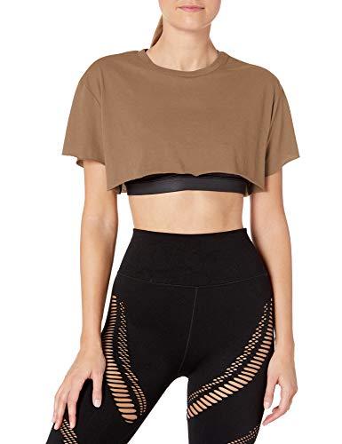 Alo Yoga Women's Cropped Short Sleeve Top