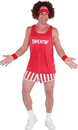 Amscan 843080 Exercise Instructor Character Costume Kit, 1 Set