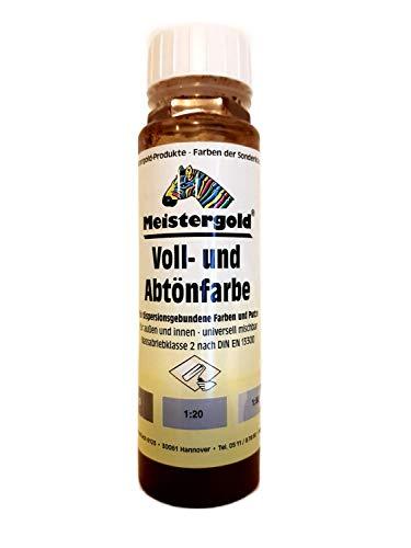 10 x 250 ml Meistergold Voll- und Abtönfarbe innen & außen Matt 2,5 L Farbwahl