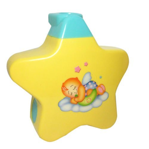 SUPER TOY Sleeping Star Projector with Star Light and Music for Newborn