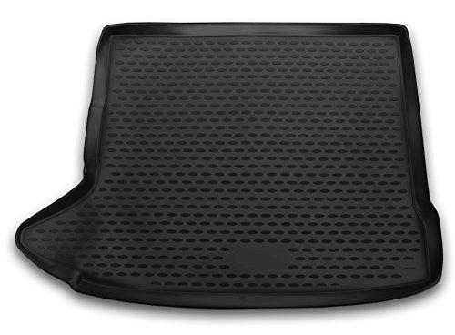 AD Tuning TMP11007 Passform Kofferraumwanne, Anti-Rutsch Oberfläche, schwarz