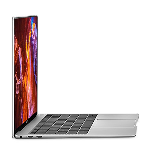 "Huawei MateBook X Pro Signature Edition Thin & Light Laptop, 13.9"" 3K Touch, 8th Gen i5-8250U, 8 GB RAM, 256 GB SSD, 3:2 Aspect Ratio, Office 365 Personal Included, Mystic Silver - Mach-W19B"