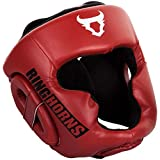 Ringhorns Charger Cascos de Boxeo, Unisex Adulto, Rojo, Talla única