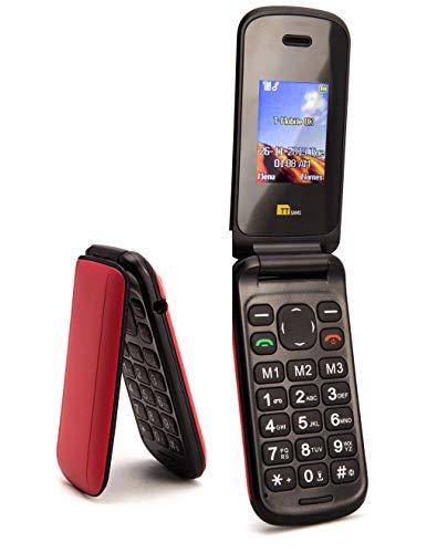 TTfone Flip TT140 - Teléfono móvil de 1.77