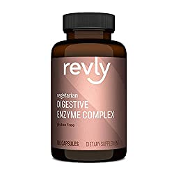 cheap Amazon Trademark – Revly Digestive Enzyme Complex, Supports Healthy Digestion, 180 Capsules, 90…