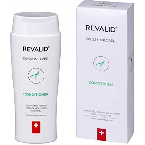 REVALID Revitalizing protein conditioner soft shiny and supple with oat extract wheat protein and panthenol B5 250ml