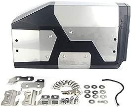 TOOGOO Para R1200Gs LC Adventure 2013-2017 R1200Gs Caja Decorativa De Aluminio Caja De Herramientas Adecuada para Soporte Lateral 4.2 litros