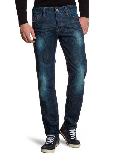 G-STAR RAW Herren 3301 Low Tapered Fit Jeans, Blau (dk aged 4638-89), 33W / 34L