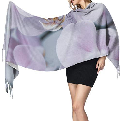 Fashion Lips Patch mit Lippenstift Soft Fringe Schal Fransenschals für Frauen Große Schals für Frauen 196