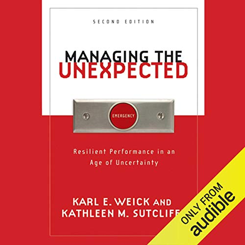 Managing the Unexpected audiobook cover art
